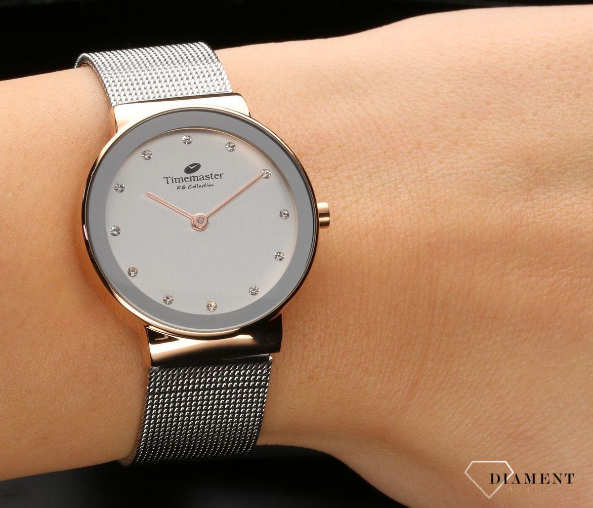 Zegarek damski na bransolecie Timemaster 099 40 www
