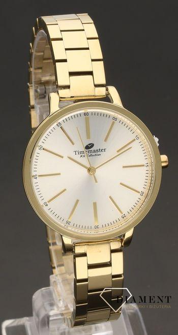 timemaster zegarek damski złoty