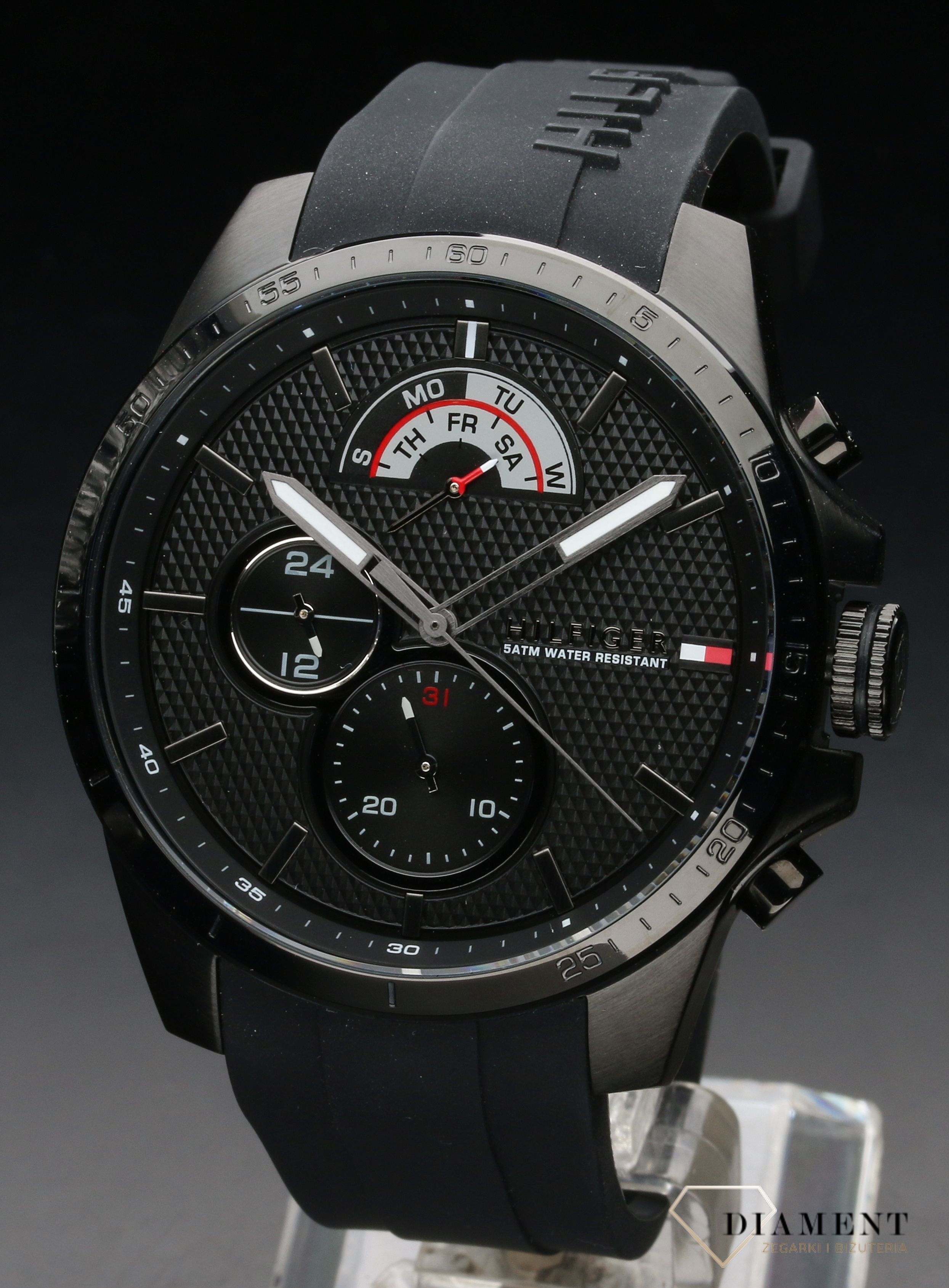 3ef1a3ab4d666 Męski zegarek Tommy Hilfiger DECKER 1791352 - www.zegarki-diament.pl