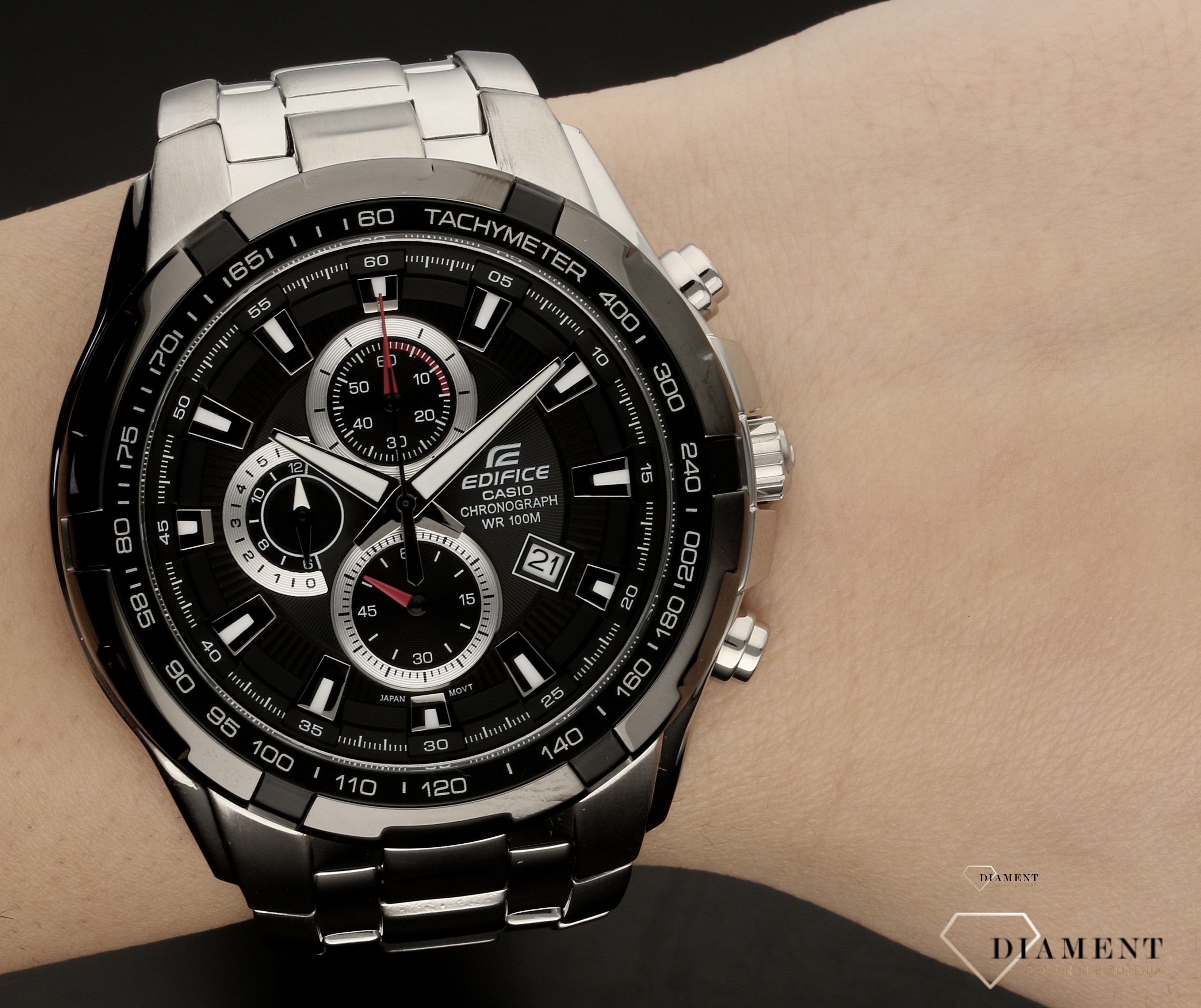Zegarek męski Casio na bransolecie