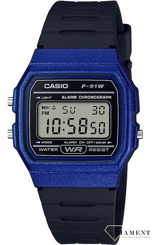 zegarek casio sport niebieski