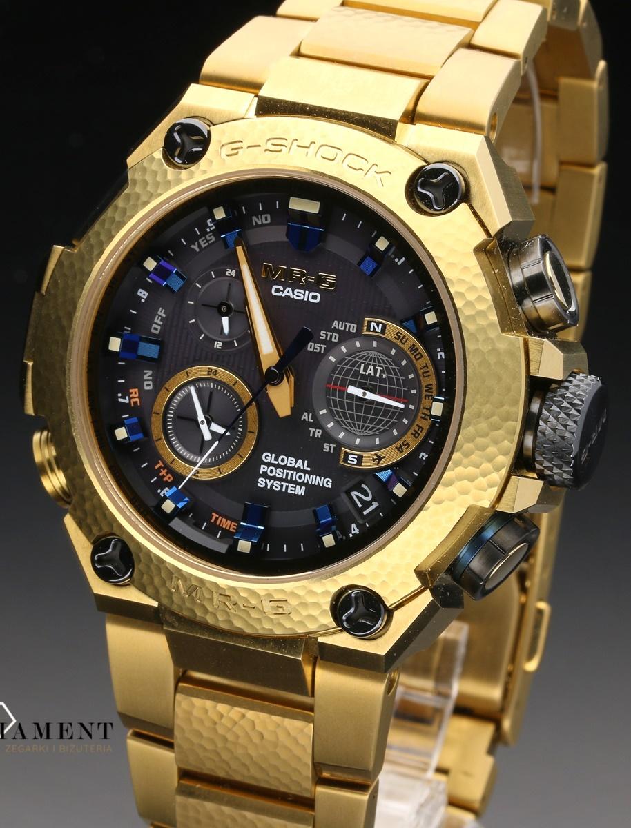 ecbfa8c75537db Zegarek męski CASIO G-Shock MRG-G1000HG-9ADR TITANUM HAMMER TONE ...
